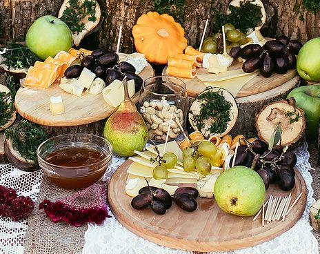 12 idées pour un joli buffet de mariage fait maison Buffet