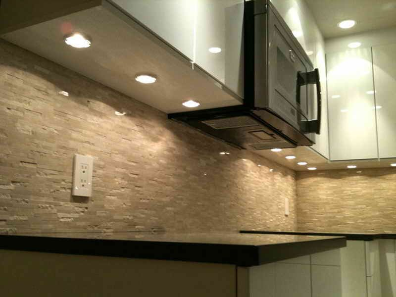 Installed Under Cabinet Puck Lighting Yahoo Image Search Results
