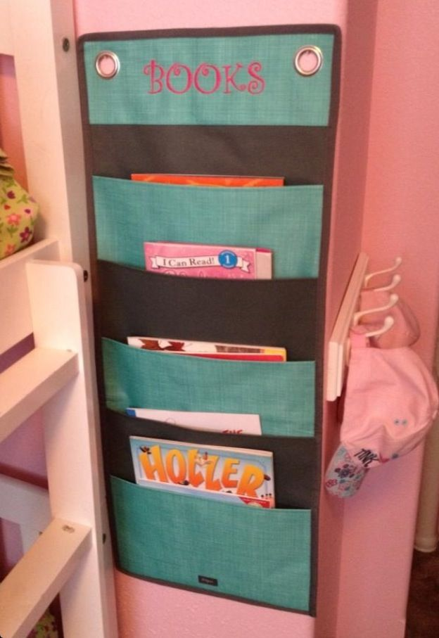 Thirty One Hang Up Family Organizer As A Book Holder For Kids