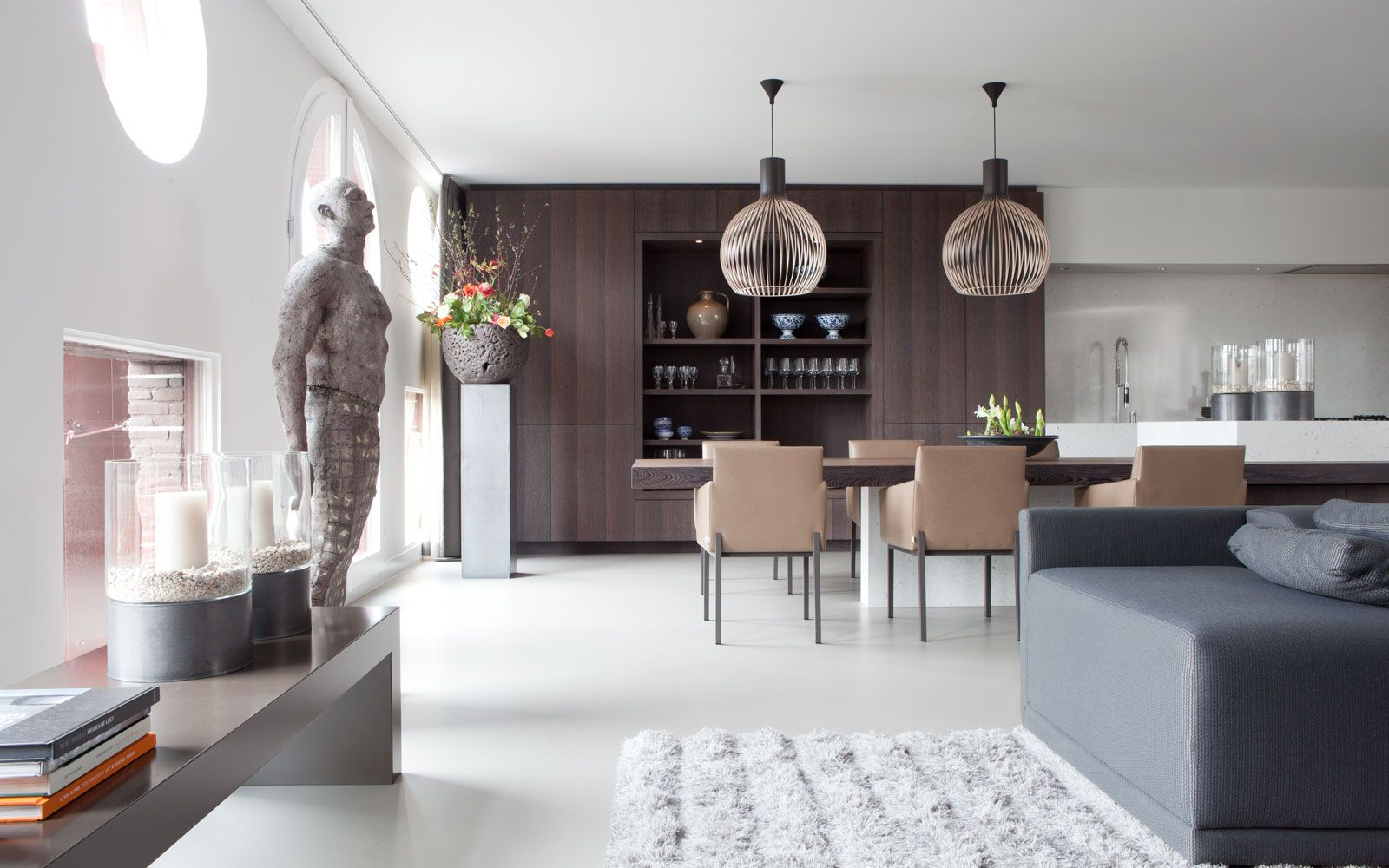Exclusieve Gietvloer Woonkamer : Penthouse woonkamer decoratie pinterest pent house loft style