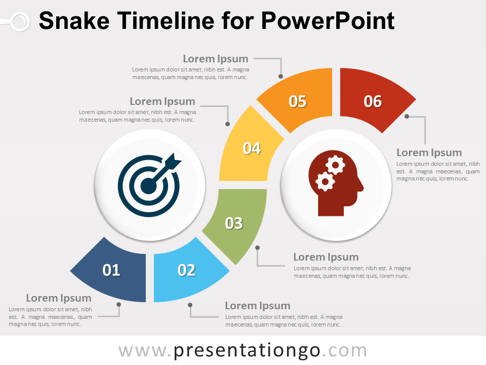 Free snake timeline for powerpoint powerpoint diagrams free snake timeline for powerpoint toneelgroepblik Choice Image