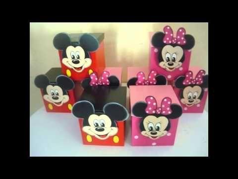 Manualidades de mickey mouse youtube mickey e minie - Manualidades minnie mouse ...