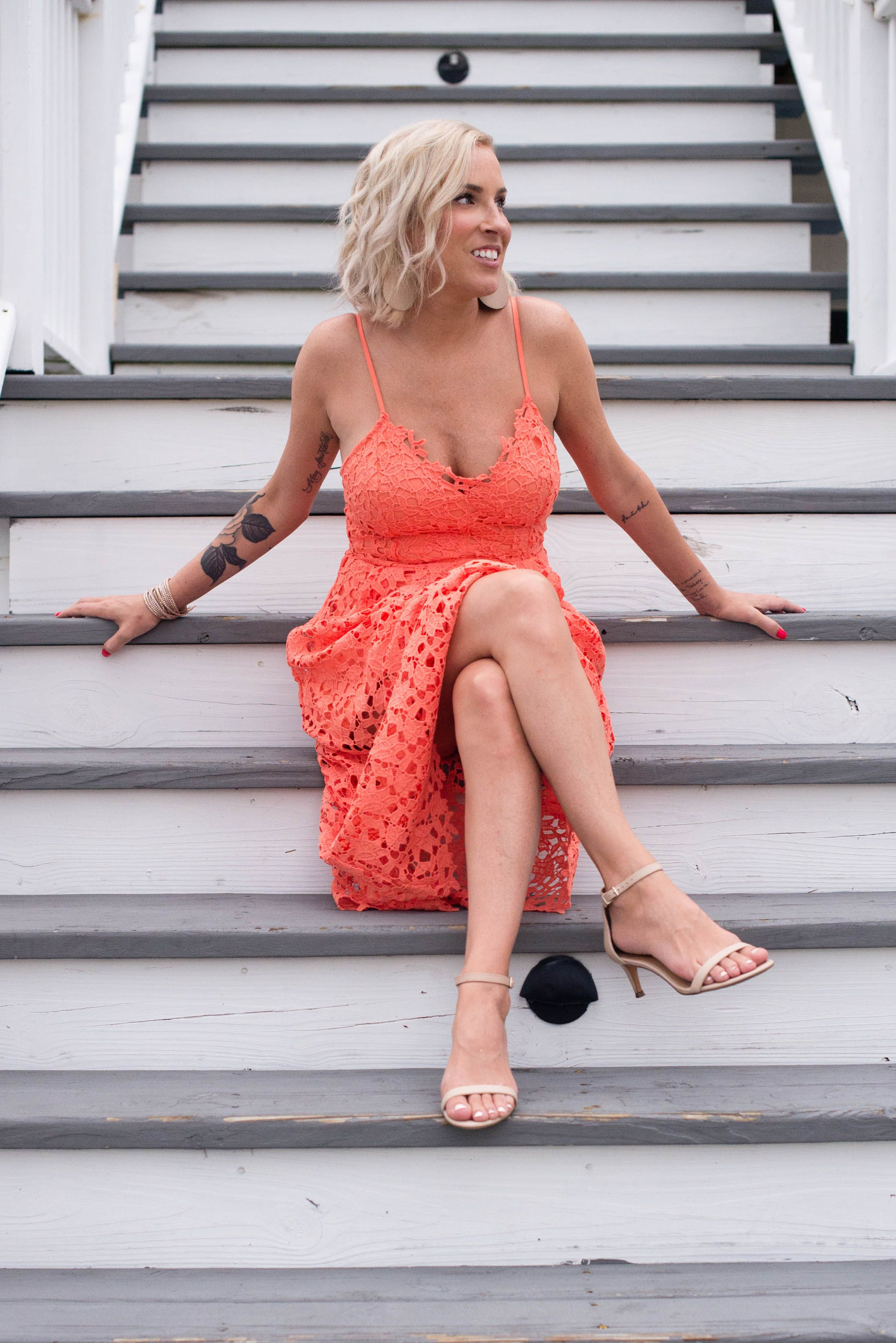 Wedding Guest Dress Dilemma Solved This Pretty Midi The Mom Edit Wedding Guest Dress Orange Midi Dress Wedding Guest Dress Summer [ 3296 x 2200 Pixel ]