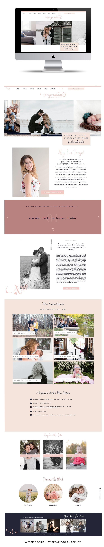 Tonya Wanner Photography - Website Design   Branding, Logos