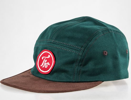 Green ZD 5-Panel Hat by TURBOKOLOR