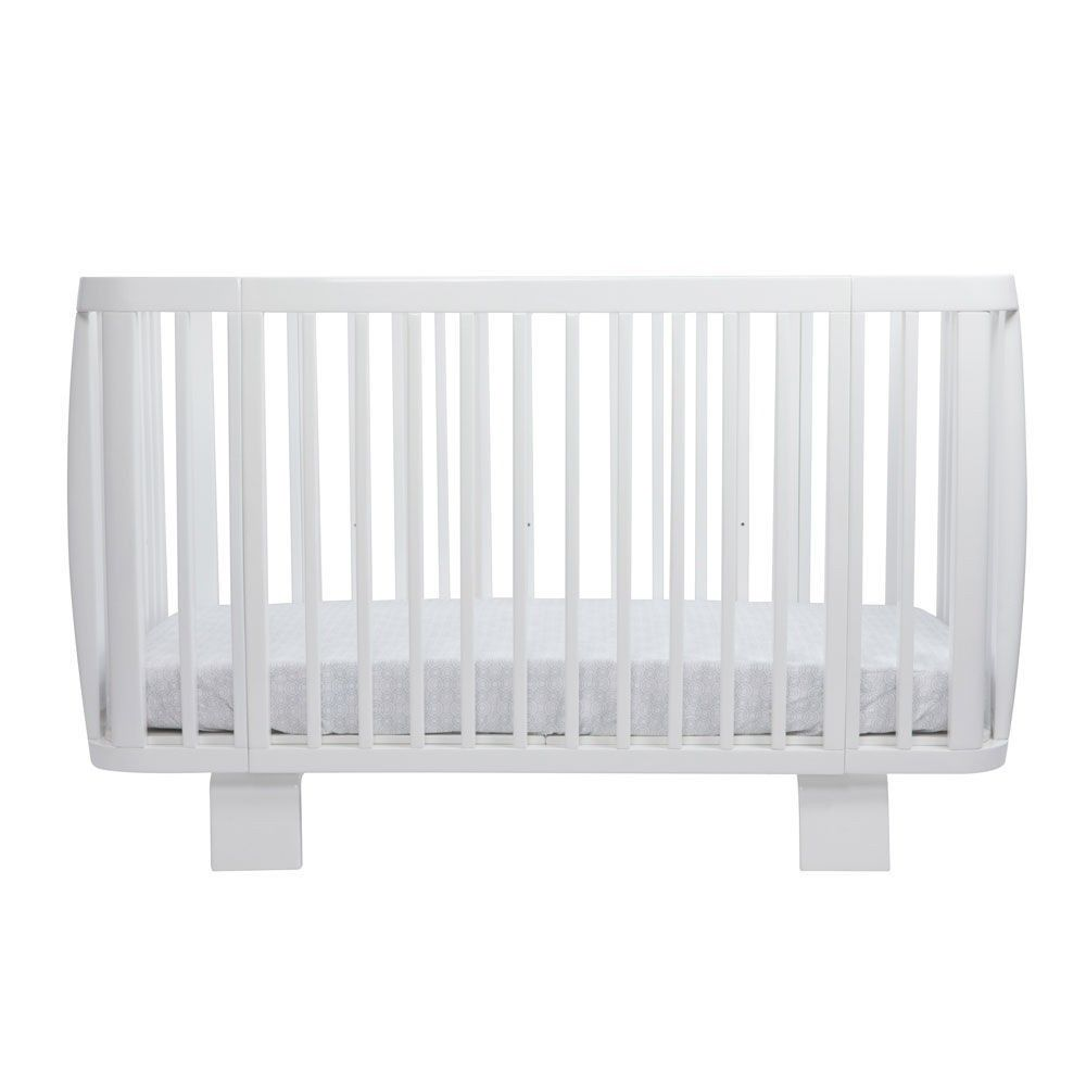 white retro cot bed crib bloom  diddle tinkers modern kids  - white retro cot bed crib bloom