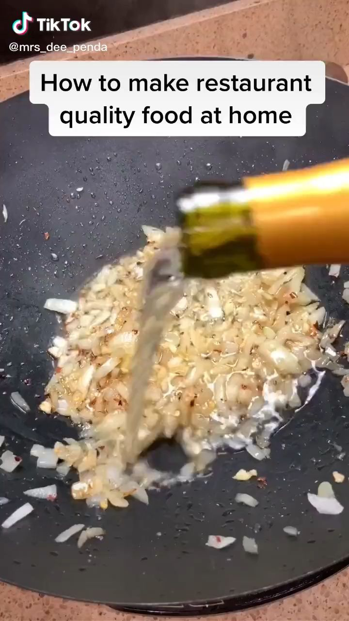 How To Cook Restaurant Quality Food At Home Tiktok Video Food Videos Cooking Food Fine Cooking Recipes