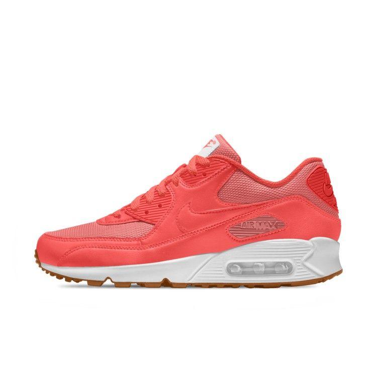 UK Nike Air Max 90 Womens Shoe Essential Rose White Discount