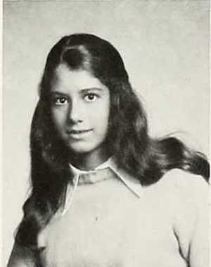 Amy Grant during her high school