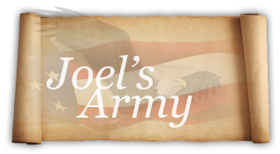 The World For Jesus Ministries: Joels Army | The black cauldron, Army, Novelty sign
