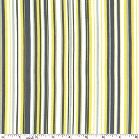 Citron Gray Play Stripe Fabric By Michael Miller Cx3137 1 Yard Grey Fabric Fabric Miller Homes