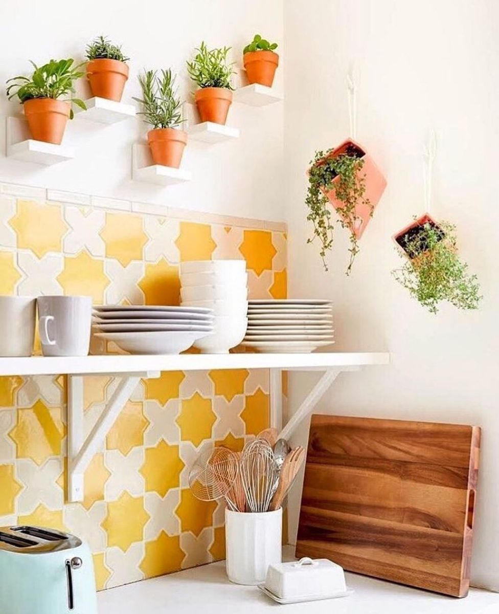 13 clever ways to display fresh herbs indoors and out on indoor herb garden diy apartments living walls id=75617