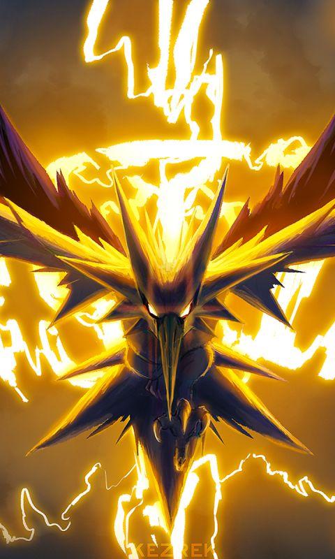 Pokemon Go Mobile Backgrounds - Team Instinct Collection