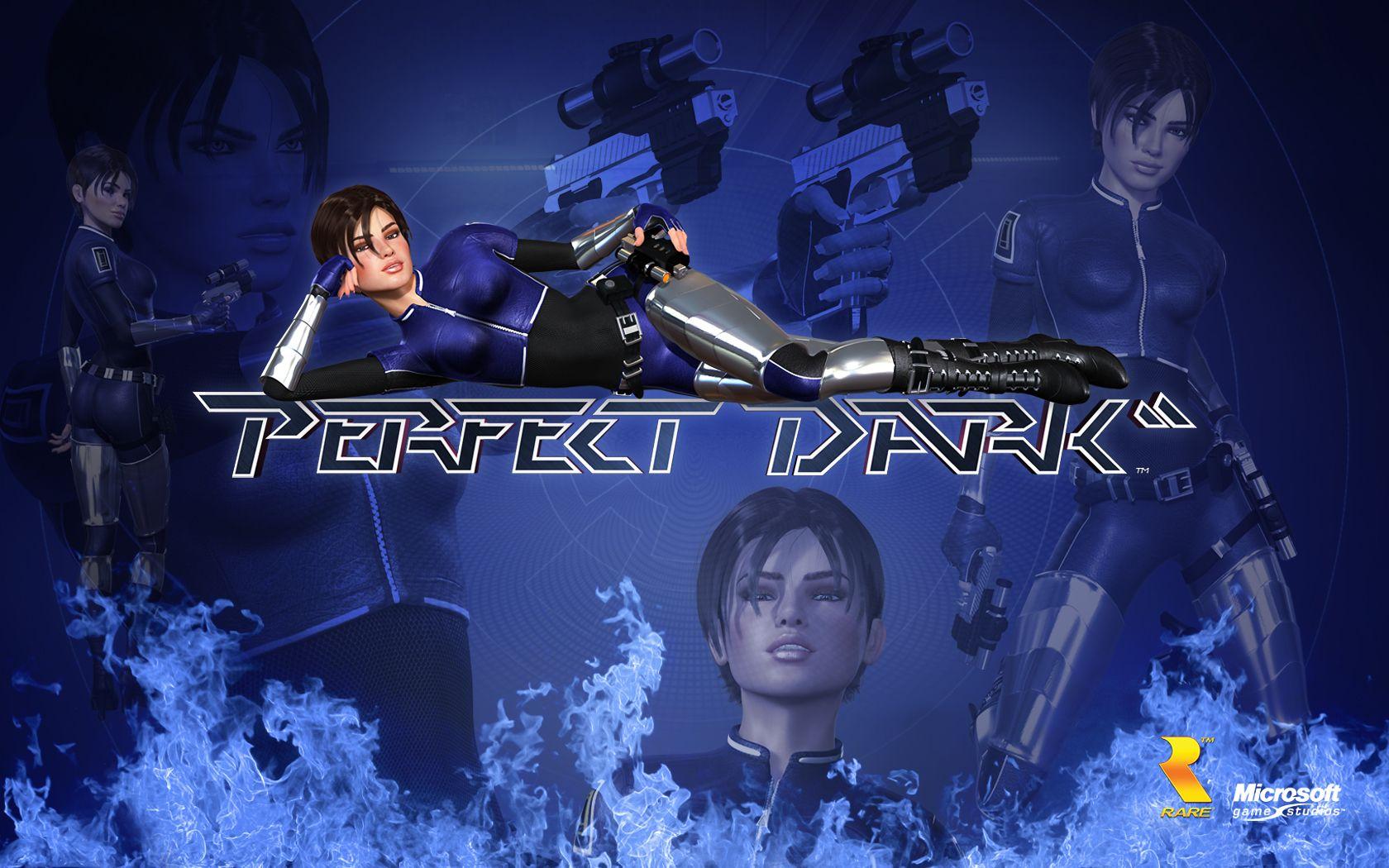 Perfect Dark Xbla Wallpaper