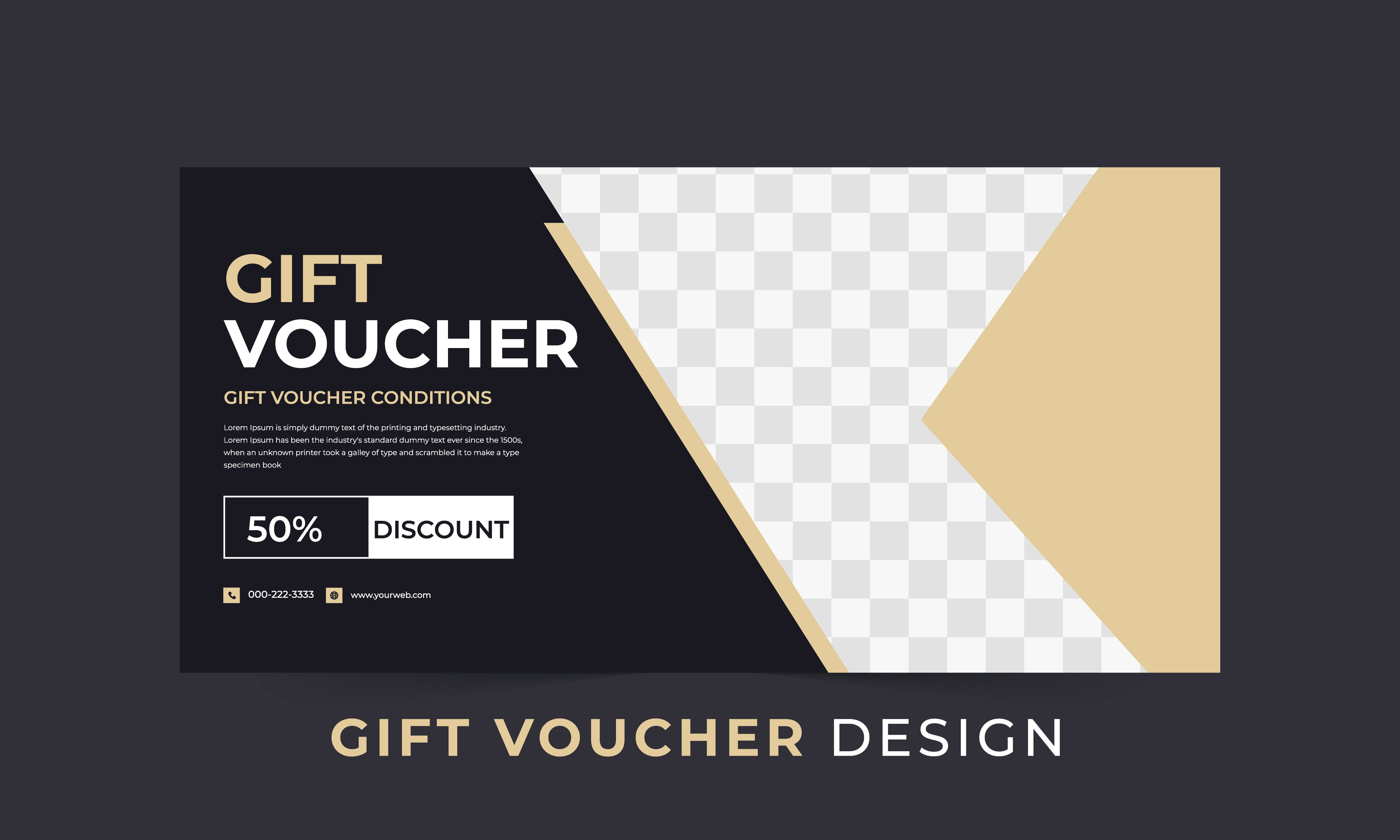 Vector Gift Voucher Holiday Gift Cards Coupons And Certificates Design Template With Layout Holiday Gift Card Voucher Design Certificate Design Template