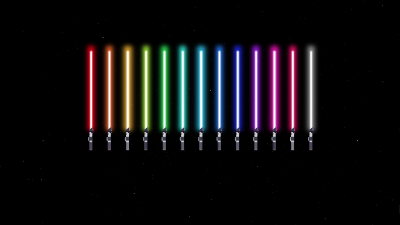The Creation Of The Lightsaber With Css Animation Lightsaber Best Lightsaber Css