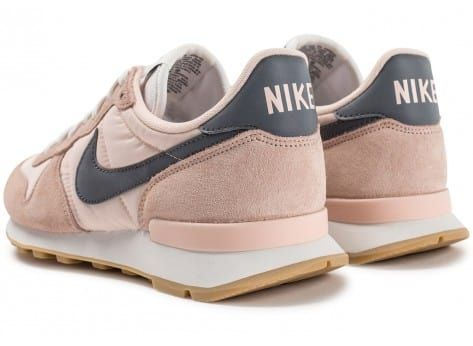 nike internationalist femme rose et jaune