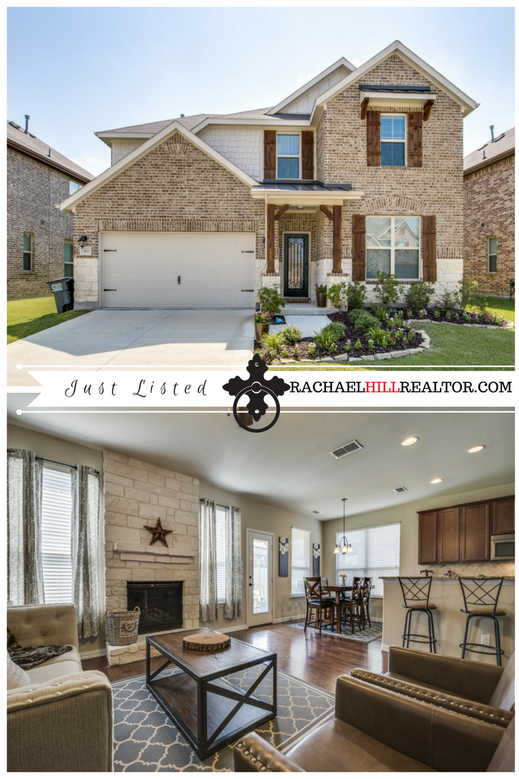 Welcome To This Beazer Custom Home With Sought After Frisco Isd