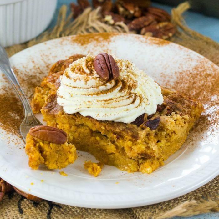 Recipe spice cake mix pumpkin pie filling