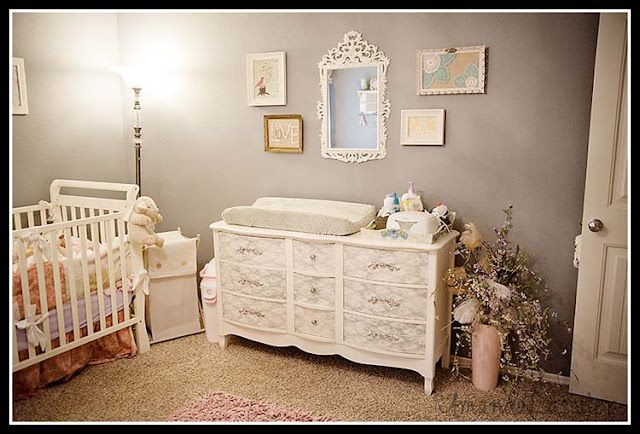 DIY Vintage Baby Nursery lots of details - The Stores of A & Z and Little B Blog