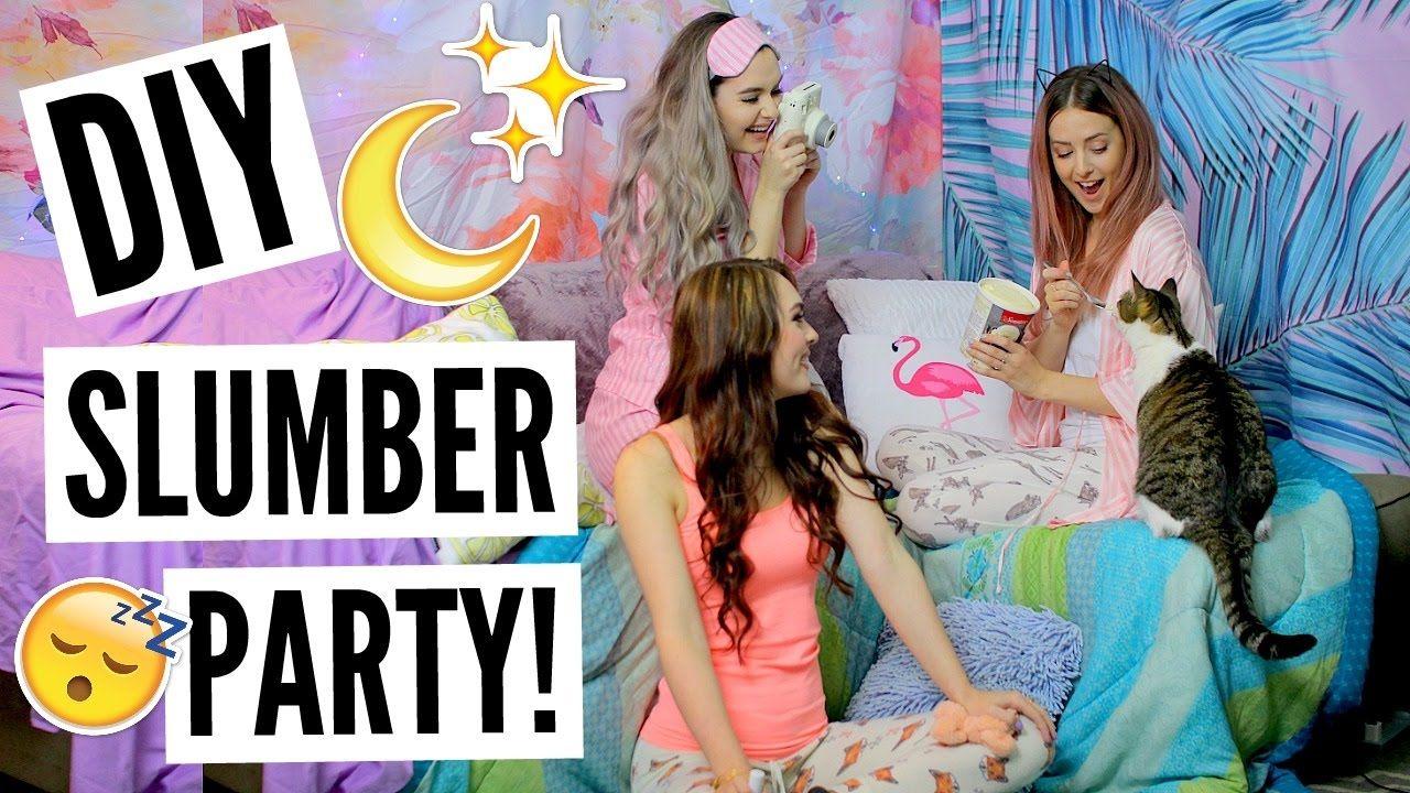Diy Slumber Party  Slumber Parties, Sleepover Birthday -6282