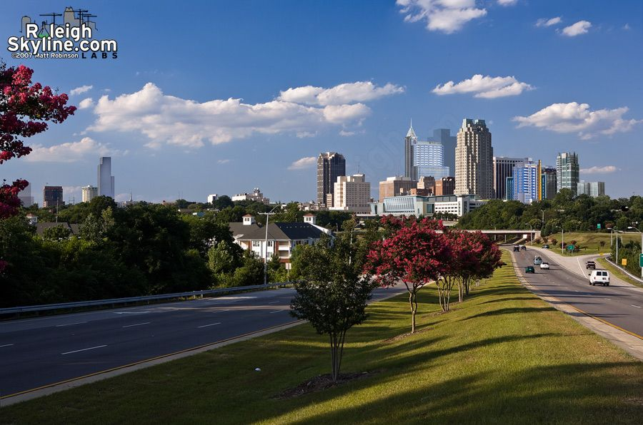 Fayetteville Skyline Raleigh Skyline