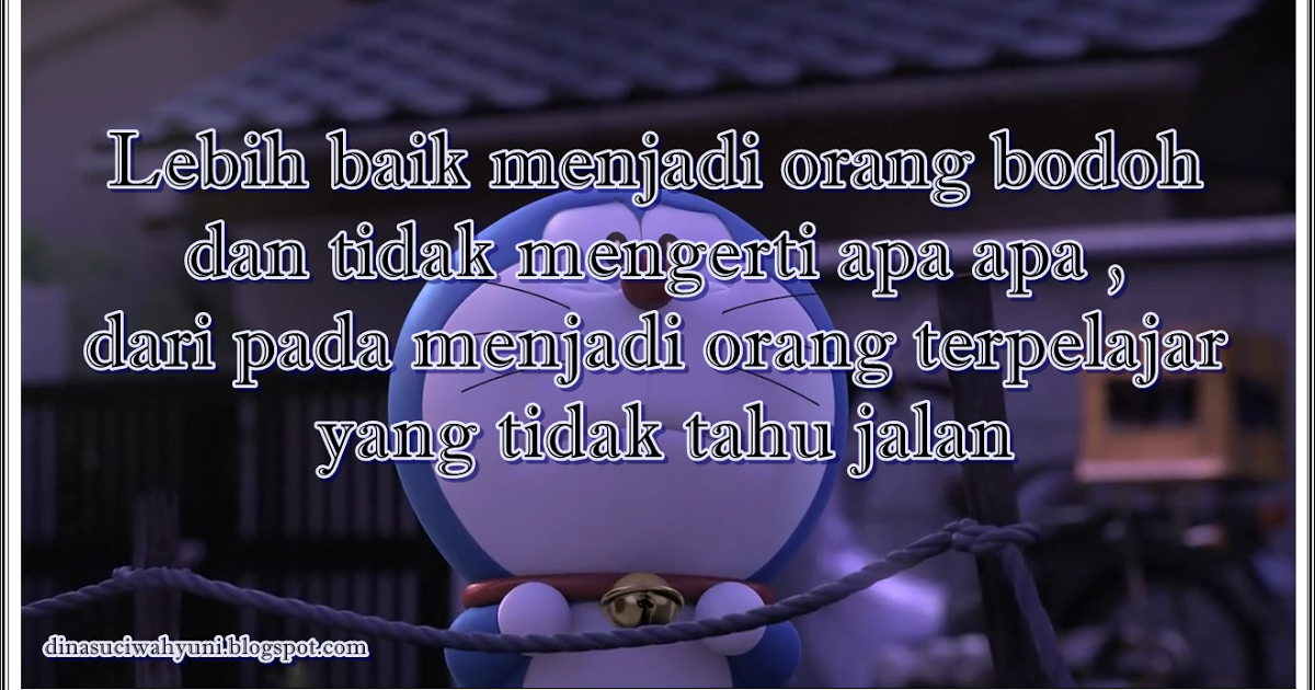 Gambar Kata Kata Doraemon Romantis Doraemon Lucu Gambar