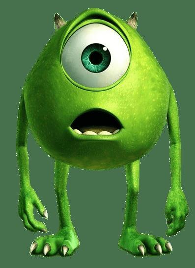 Resultado De Imagen Para Mike Wazowski Png Monsters Inc Characters Disney Pixar Characters Monsters Ink