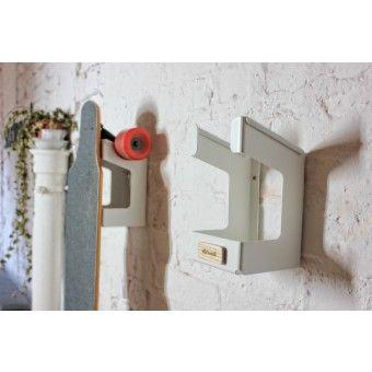 st ckwerk parker wandhalterung f r longboard oder skateboard longboard regal diy. Black Bedroom Furniture Sets. Home Design Ideas
