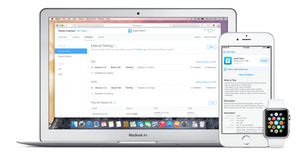 TestFlight for iOS update adds Dynamic Text support