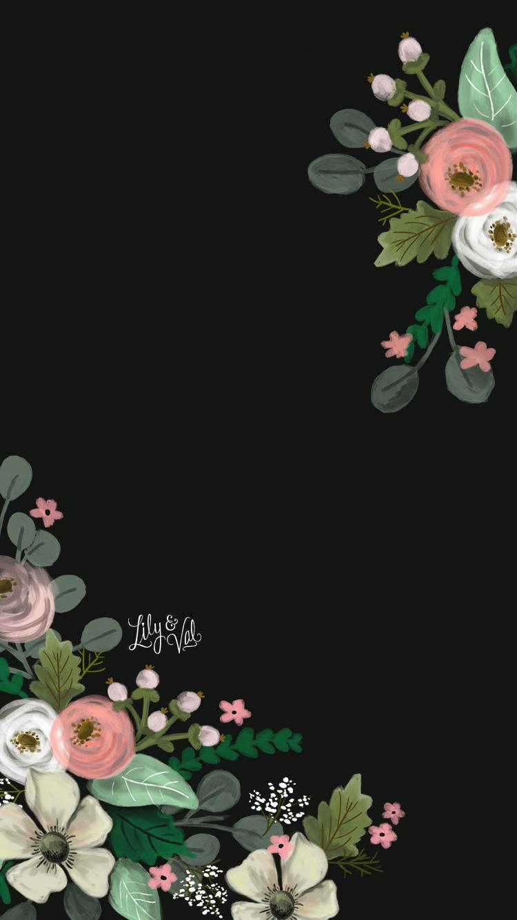 Gorgeousxox Flower Background Wallpaper Floral Wallpaper Flower Wallpaper