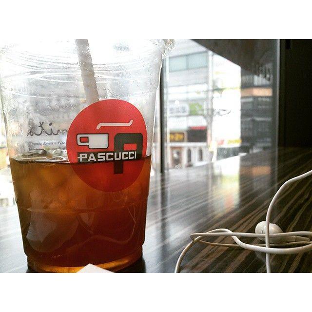 아메리카노. 파스쿠치 Caffè Americano caffe-pascucci in South Korea