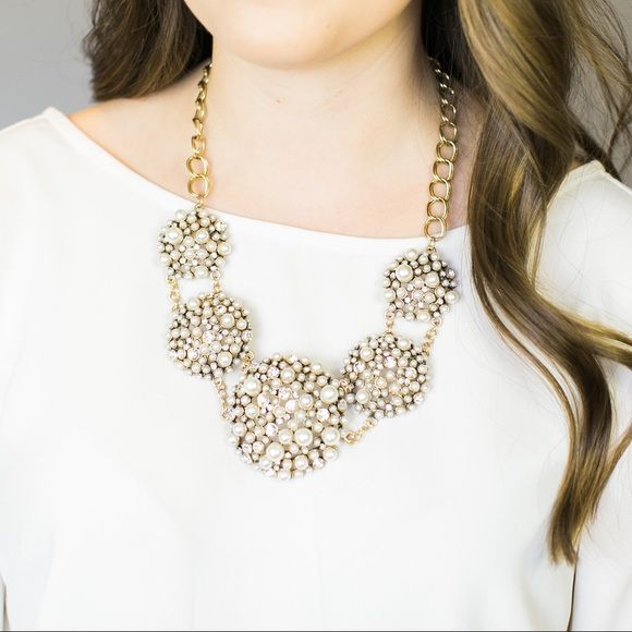Southern Belle Glitz Charlotte Statement Necklace It's easy to fall in love with our limited edition Charlotte Necklace! This stunning statement piece can easily be worn to a lunch date with friends or to a formal wedding. Your options will be endless and you will treasure this piece for years to come!                Shop our bridal and boutique jewelry collections at www.SouthernBelleGlitz.com and keep up with us on Instagram  @SouthernBelleGlitz Southern Belle Glitz Jewelry Necklaces