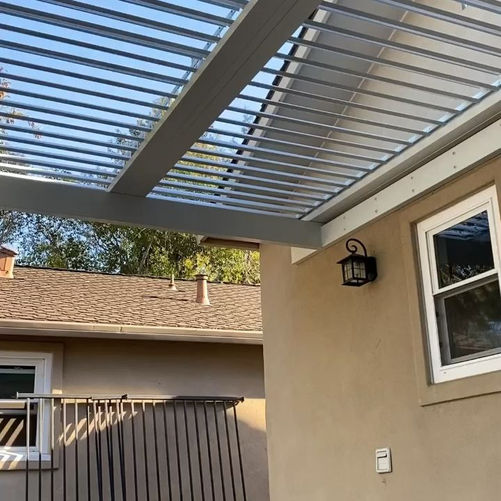 Photo of Adjustable Patio roof system