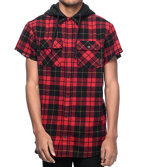 d9bd887ae4bd2 Short Sleeve Hoodie · Casual Shirts For Men · Take your lumberjack style to  the next level with the Pablo hooded flannel from Ninth Hall