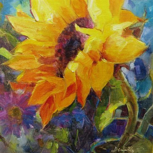 """Good Day Sunshine"" - Original Fine Art for Sale - © Scarlet Owl Studio"