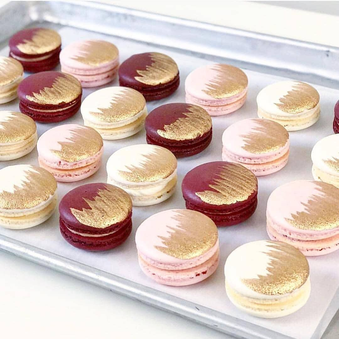 Burgundy Pink And Gold This But Without Pink Dessert Bar