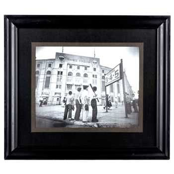 Express Your Love For America S Favorite Pastime With This Gorgeous Vintage New York Yankees Stadium Framed W New York Yankees Stadium Frame Wall Decor Yankees