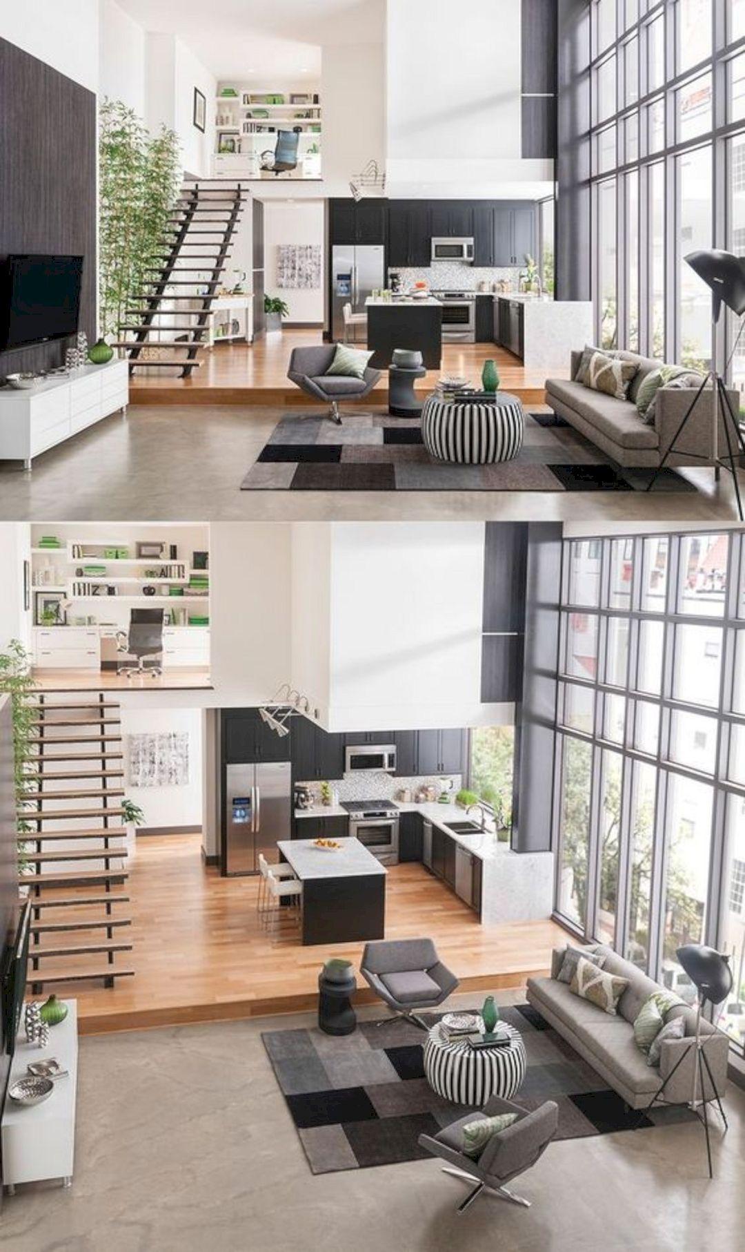 15 Amazing Interior Design Ideas For Modern Loft House Interior