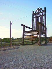 Pleasing Star Of Texas Rocker Natty Flat Texas Declares Itself The Frankydiablos Diy Chair Ideas Frankydiabloscom