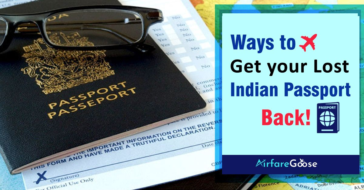 How To Replace A Lost Passport Video You Can Replace A Lost