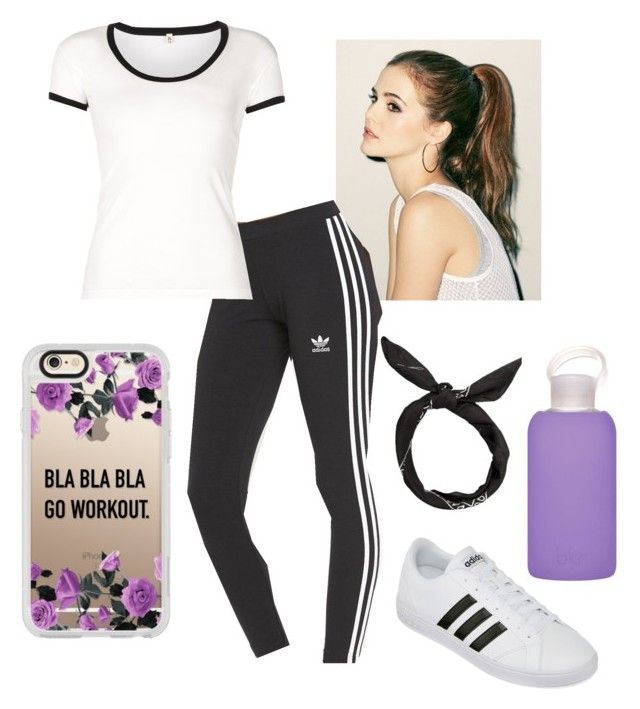 """Watch Me"" by hushed1dream0gal1 on Polyvore featuring adidas Originals, R13, adidas, Casetify and bkr"
