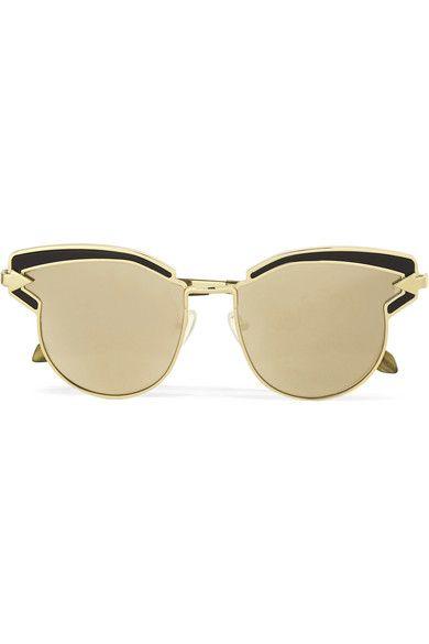 bd79f3495ac KAREN WALKER Superstars Felipe Cat-Eye Gold-Tone Sunglasses.  karenwalker   sunglasses