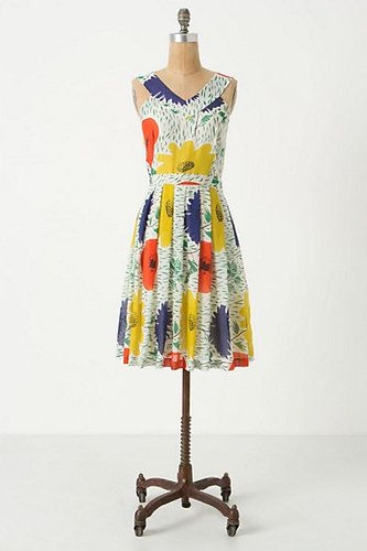 Anthropologie's Primary Blooms Dress by Girls from Savoy