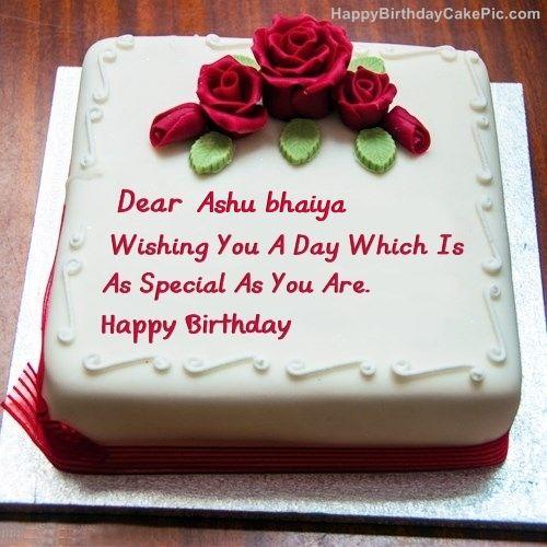 Best Birthday Cake For Lover Ashu Bhaiya 500x500