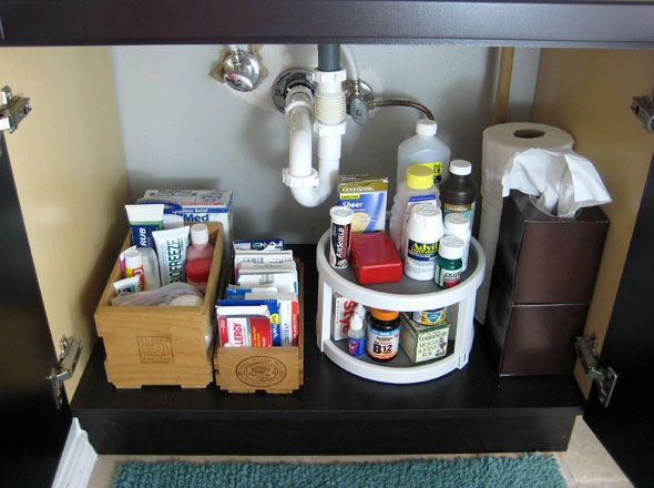 1000+ images about Organize Bathroom Cabinets on Pinterest ...