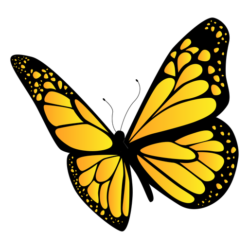 Yellow Butterfly Design Png Image Download As Svg Vector Eps Or Psd Get Yellow Butterfly Design Tran Butterfly Art Drawing Yellow Butterfly Butterfly Design