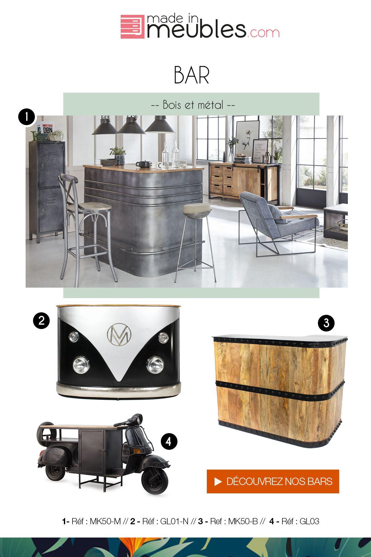 Bars originaux et industriels images