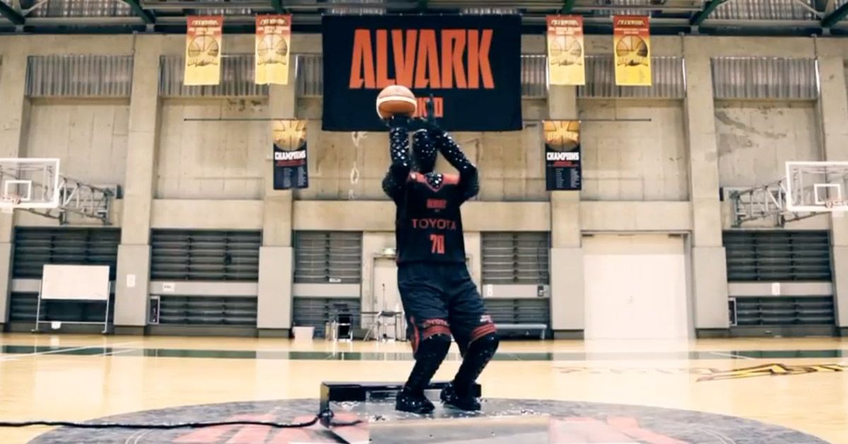 AIequipped robot shoot hoops better than professional