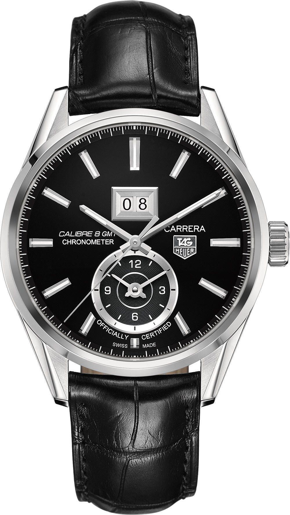 TAG Heuer Watch Carrera Grande Date GMT Calibre 8